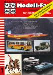 Modell-Fan. internationales magazin für plastic-modellbau. hier: Heft 7/1985